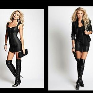 Guess Zonian Over the Knee boots 8 Leather suede
